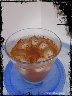 Receta saludable - Té helado de canela en http://viviangilro.blogspot.com/2014/09/receta-saludable-te-helado-de-canela.html