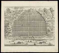 Town Plan of Canton: l'ambassade de la Compagnie Orientale, 1665