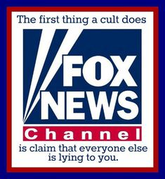 "Fox News is a GOP right wing show masquerading as a regular news show,while giving views of right ring zealots. They con normal people into watching by calling themselves a ""news"" channel inferring that they are a regular ""news"" station giving everyday news happening in the U.S & the world and not presenting totally political right wing republican editorial. They fact check nothing. Biddy Craft"