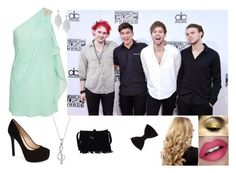 """""""AMA's With 5SOS"""" by banphrionsaelizabeth on Polyvore featuring Jessica Simpson, Bridge Jewelry and Forever 21"""