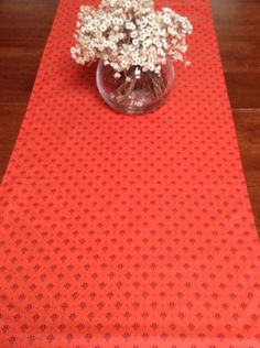 Acrylic Coated French Table Runner