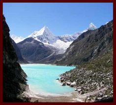 UM DOS LUGARES MAIS LINDOS DO MUNDO: PERU : [b]A Cordilheira Branca, no norte do Peru, tem alguns dos picos mais altos de toda a Cordilheira dos Andes, e por isso é um paraíso para escaladores. Nela também está localizada o Lago Parón. Photo by: http://viagem.br.msn.com/Galeriadefotos.aspx?cp-documentid=20764301&imageindex=15 Um excelente fim de semana para todos que passarem por aqui. .[/b] | allamandra_kalig