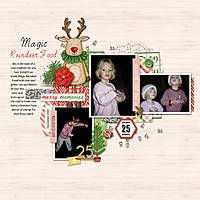 Telling the story of magic reindeer food by Jenn McCabe