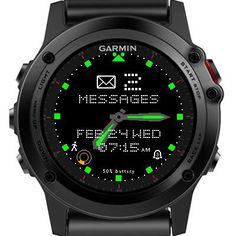 Garmin Fenix 3 Women's Smart Watches for Sport, Fitness and Fashion - http://amzn.to/2jYX1qx
