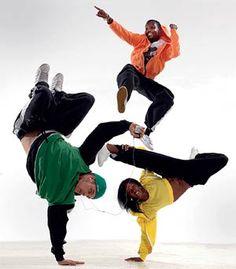 Hip hop dancers, USA