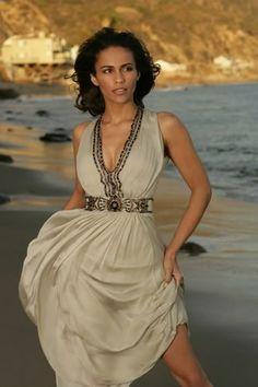 Paula Patton  I really like this dress.