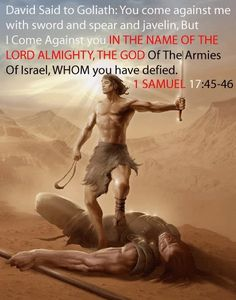 Andrea A Elisabeth uploaded this image to 'Yeshuah haMashiach - Jesus Christ/Spiritual Warfare and End-Time Vol See the album on Photobucket. Way Of Life, The Life, Bible Scriptures, Bible Quotes, 1 Samuel 17, Religion, David And Goliath, After Life, Spiritual Warfare