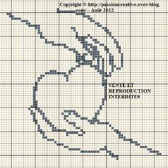 point de croix monochrome coeur - Pesquisa Google