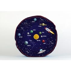 Astro Adventure, designed to get the imagination working and educational, detailing the constellations and the planets in our solar system.... £70 including postage #cushions #kidsfloorcushion