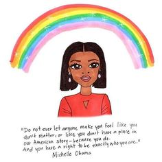 """#WomanCrushWednesday (but really everyday): Michelle Obama, depicted here by @iscreamcolour.  We are humbled and honored to have had her as our FLOTUS for the past eight years. From the New York TImes' thank you letters, a few of our favorite odes: • """"She hugged more people than any first lady ever has, and she made 'first lady' mean a person warmly accessible, a person both normal and inspirational and a person many degrees of cool."""" —Chimamanda Ngozi Adichie •  """"She managed to convey di..."""