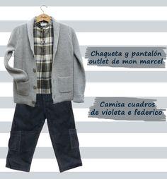 c7e4abd59 Chaqueta y pantalón outlet de mon marcel Camisa de violeta e federico