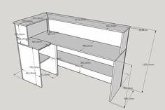 Small Reception Desk, Office Reception Design, Office Table Design, Interior Design Tools, Office Interior Design, Office Interiors, Small Office Furniture, Home Decor Furniture, Gift Shop Displays
