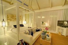 bedroom in a country-house