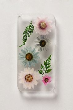 Pressed Daisies iPhone 5 Case #anthropologie