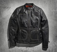 Women's Agitator Leather Jacket   Leather   Official Harley-Davidson Online Store