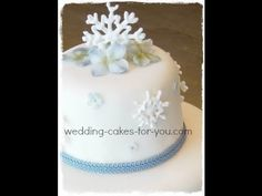 How to Make a royal icing snowflake for your cake « Cake Decorating