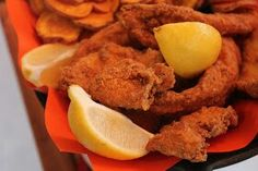 Creole Fried Fish  Prep Time: 15 minutes Cook Time: 7-8 minutes Total Time: 23 minutes Serves: 4  Ingredients:  4-6