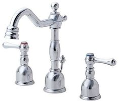 Bathroom Faucets Under $100 elements of design new orleans vintage brass 2-handle widespread