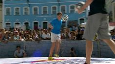 Freestyle Football Battles in Brazil Red Bull Street Style 2014