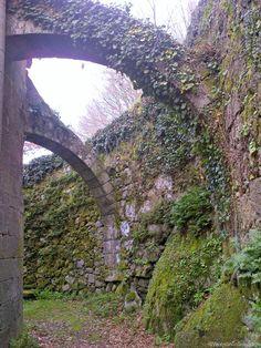 Contrafuerte de ermita de #Lugo, #CaminoPrimitivo de Santiago