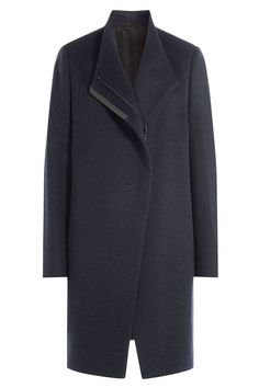 BRUNELLO CUCINELLI Wool Coat with Bead Embellished Trim. #brunellocucinelli #cloth #