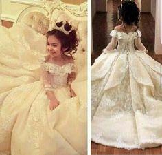 Dulce fuera del hombro de cuello Girl Girl Dresses Ocasión especial para las bodas de longitud del piso de los caballeros vestido de vestidos Appliques Communion Dress