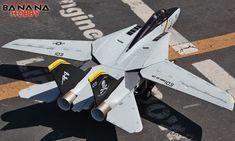 5 CH BlitzRCWorks Jolly Roger F-14 Tomcat RC EDF Jet RTF