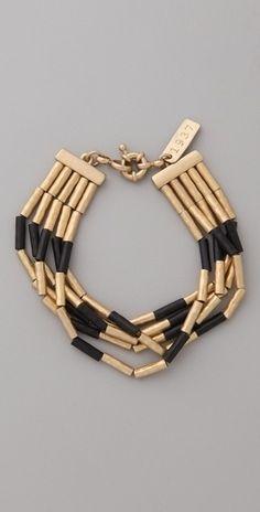 Madewell Colorblock Bracelet - StyleSays
