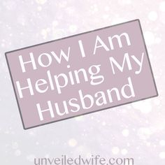 A wife who prays for her man!