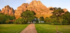 Award-winning Franschhoek wine farm, Boschendal, prides itself on 300 years of wine-making. Our Franschhoek winery offers tasting tours, organic eats, and natural beauty. Wine Tourism, 2nd City, Farms Living, Game Reserve, Old Farm, Trout Fishing, South Africa, Country Roads, Cottage