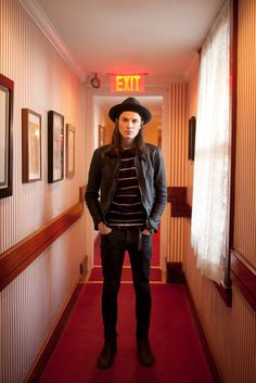 James Bay is not only an amazing musician but look at that face and stature, he is definitely earning a spot on my writing board