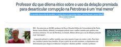 Delacao  - Se bandido desconfia de bandido, a Justiça deve se aproveitar disso'   http://oglobo.globo.com/brasil/professor-diz-que-dilema-etico-sobre-uso-da-delacao-premiada-para-desarticular-corrupcao-na-petrobras-um-mal-menor-15211327#ixzz3QUmN5bVm… #Lavajato