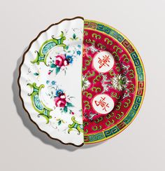 Hybrid Eudossia Porcelain Fruit Plate design by Seletti