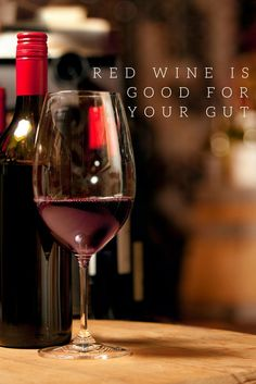This is toast-worthy news: Wine can, yet again, be healthy! It's good for your gut.