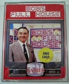 Bob's Full House computer game - Amstrad CPC cassette
