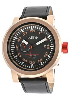 Red Line 50047-RG-01-BKST Watch