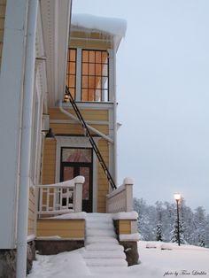 Winter in Lahti, Finland