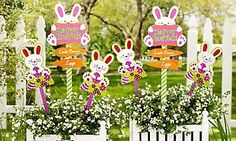 Easter Egg Yard Stakes By The Round Top Collection | DIY Crafts | Pinterest  | Easter, Easter Decor And Easter Crafts