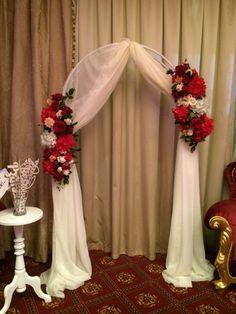 Классическая свадьба. Арка.   Classical wedding. Arch