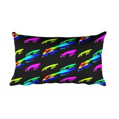 Rainbow WIndow Rectangular Pillow