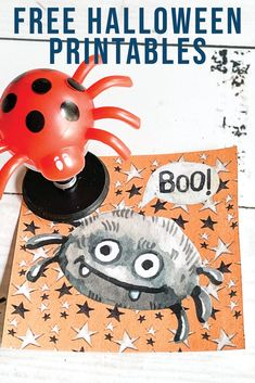 Download these Cute Spider Halloween Printable Tags from Everyday Party Magazine are perfect for Halloween treats for ghosts and goblins of all ages! #Halloween #FreePrintable #HalloweenTags #Spider