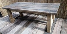 Hand Made Rustic Dining Table 2000mm x 90mm by MyHomeVintageTables