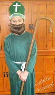 St. Patrick ~ Costume ~ Catholic Inspired