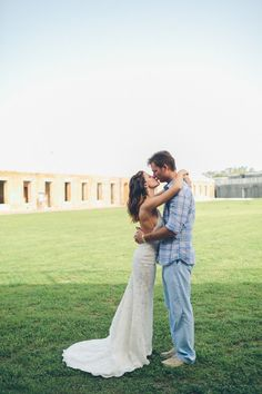 Beautiful Jessica wearing the Katie May Poipu Gown on her special day! www.katiemay.com/products/poipu