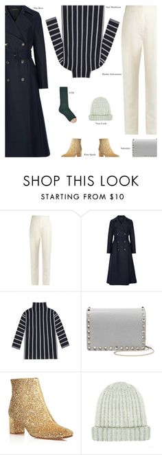 """Untitled #4581"" by amberelb ❤ liked on Polyvore featuring Haider Ackermann, The Row, Valentino and Kate Spade"