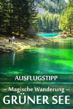 Green Lake: Field report with the best photo spots and .- Grüner See: Erfahrungsbericht mit den besten Fotospots sowie allgemeinen Tipps … Grüner See: Experience report with the best Fotospots as well as general tips and restaurant recommendations. Europe Destinations, Holiday Destinations, Places To Travel, Places To See, Koh Lanta Thailand, Camping Activities, Camping Games, Camping Checklist, Camping Tips