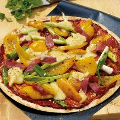 Blitzpizza Salami Rezepte | Weight Watchers