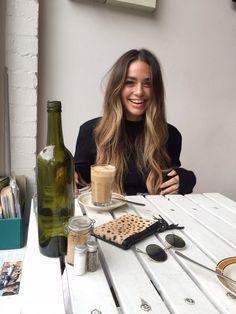 beauty, candid, coffee, flawless, latte, personal, stunning, style, woman, First Set on Favim.com, cartia mallan