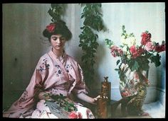 Some of the earliest colour photographs from the Belle époque times by Etheldreda Laing - simply stunning! | Pupulandia