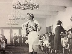 First collection! Shown at Kalastajatorppa in 1951.